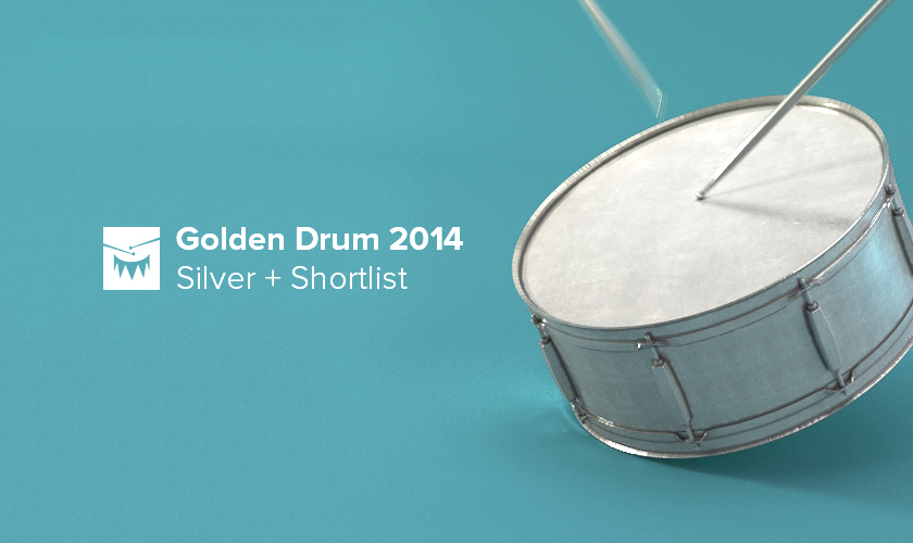 Aimbulance gained Silver Award at Golden Drum