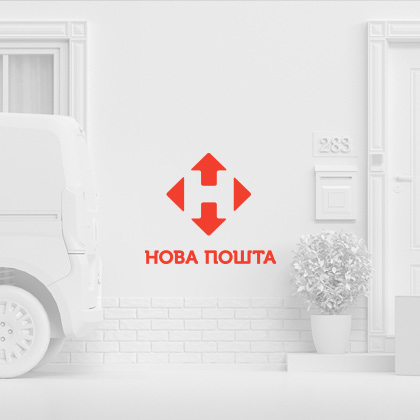 Website for Nova Poshta